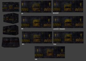 Industrial Ammo Crates by Deathbymodding
