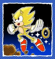Go, Super Sonic, Go by KezART