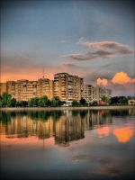 Sunset in Bucharest 10 by c05t1n
