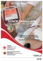 Blood Donation Event Poster by TheAFN