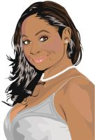 Raven Symone - Vector Project by barbershoppe