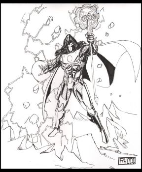 Thors Assassin_bw by seriosgraphite