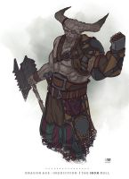 Dragon Age: Inquisition - The Iron Bull by BrokenNoah