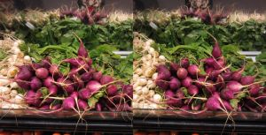 Stereograph - Radishes by alanbecker