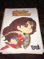 Wonder Woman Pop Style Cover by 48Comics