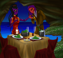 Dinner for Two by DamienMuerte