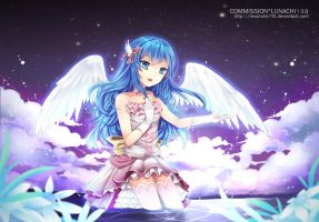 Commission - Angel Song by revanche7th
