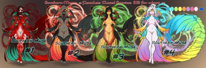 Muses Adopts ::OPEN:: by FsMaverick