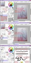 No-Tablet Lineart tutorial! by Mikitara