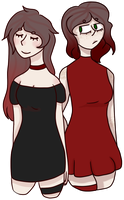 .:Kira and Kylie [COMM]:. by ImperfectImposter