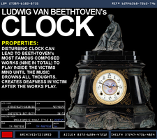 Ludwig Van Beethtoven's Clock by wilesjeffery2152
