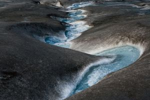 Melt-water II by orographic