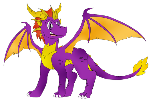 Spyro In My Style by LizzietheRatcicle