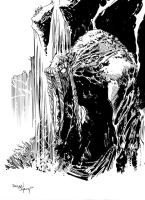 MAN-THING by DeclanShalvey