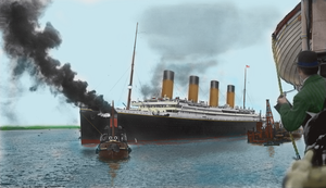 Royal Mail Steamship-TITANIC by RMS-OLYMPIC
