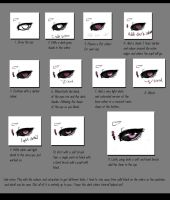 Dark Sclera Tutorial by Flesh-Odium