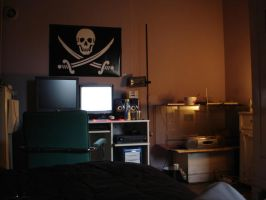Another cyber pirate room. by lyecdevf