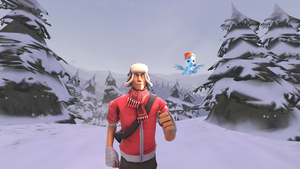 [SFM] Jogging the in Snow by DJpoint