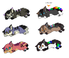 Pups for NightmareAdoptables (1) by LizzysAdopts