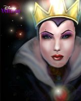 The Evil Queen by sjwolfson