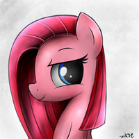 Pinkamena's good side (#2) by HeavyMetalBronyYeah