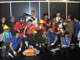 Team Gamescom 2010 by TheCrymeTyme