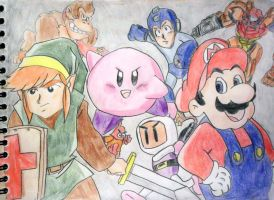 Nintendo Heroes by CpointSpoint