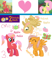 MLP | FlutterMac | Point Adopts | CLOSED by cheesepuff2