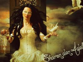 sharon den adel wallpaper by LadyMoondance