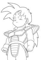 alternate gohan lines by Arrancarippo