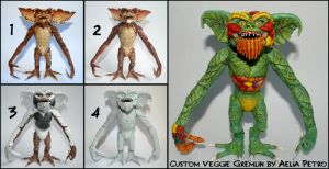 Vegetable Gremlin Custom Figure by Chaotica-I