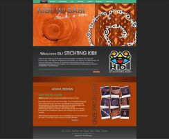 Webdesign for Kibii Wi Sabi by ravirajcoomar
