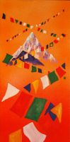 Prayer Flags for Nepal by mr-macd