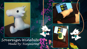Sovereign Winebite (Scalemate Plush) by NinjaGomp