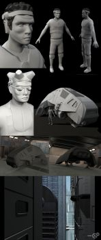 useless Junk - wips by Audic