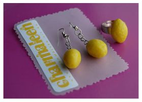 lemons set by charmaleen