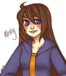 giveaway prize for K--Chou [+ speedpaint] by MewEclair