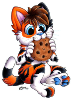Cookie omnomnoms! -commish- by MacGreen