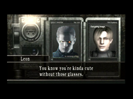 If Wesker and Leon met... by halfeyetyranny