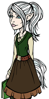 Lupine new look by ThestralWizard