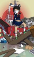 japan girl Slice by CH3CHE