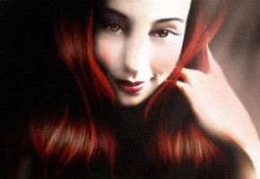 Renegade Redhead ID by wolfmorphine