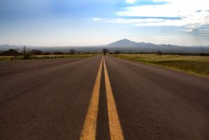 Road to Mexico 969 by mammothhunter