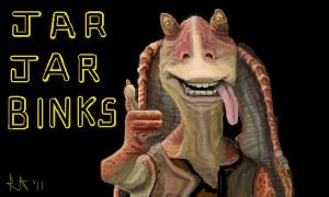 My Favorite Gungan by Miss-A-sketches