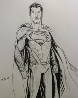 Man Of Steel by TEhopefulcomicartist