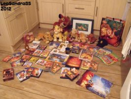 My Complete Lion King Collection by LeoSandra85