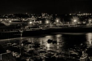 Granville by night by Rayon2lune