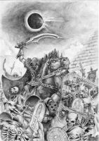 Charge of Dark Riders by MouseCityKola