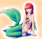 Mermaid by Melodie-Medolie