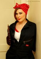 Rosie the Riveter by cyborgseamstress